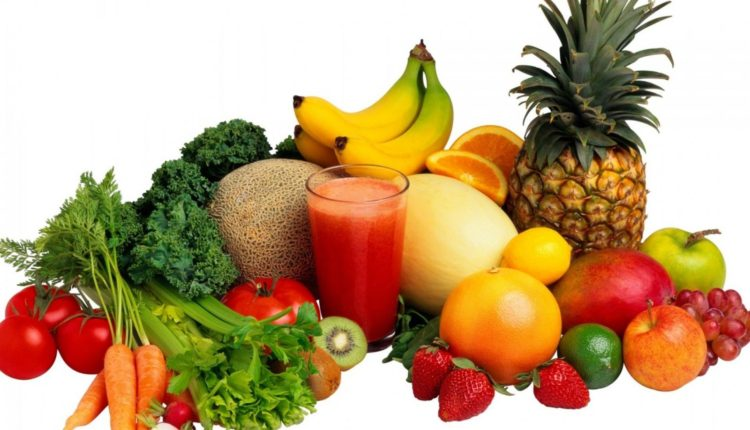 Ăn nhiều rau và trái cây để giảm cân