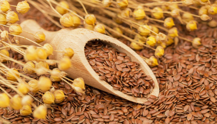 Hạt lanh có nhiều thành phần tốt cho vòng 1