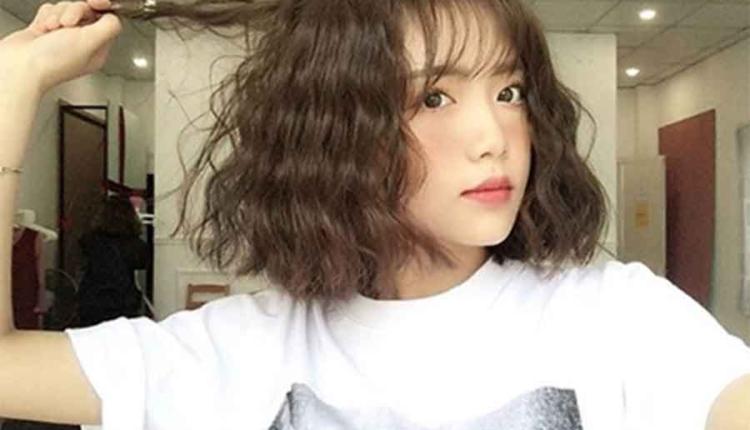 Kiểu tóc xoăn sóng nước Hàn Quốc
