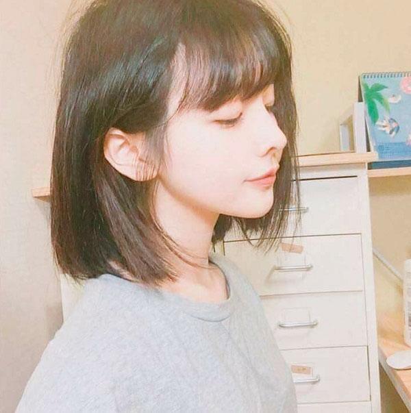 Tóc ngắn mái ngố 2