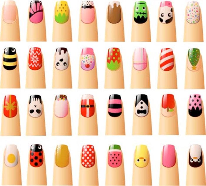 Những mẫu nail vẽ ngộ nghĩnh