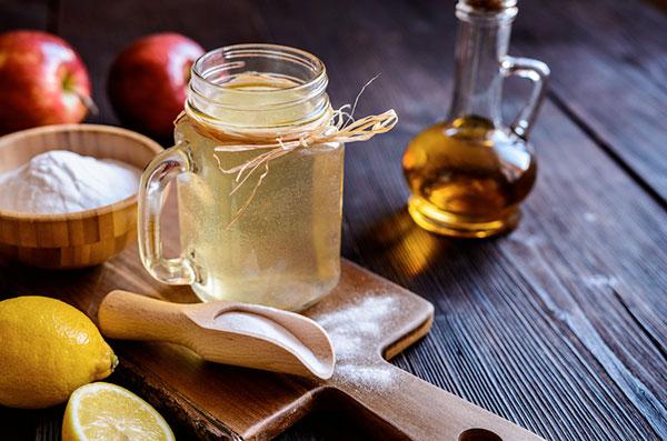 Detox giấm táo có hương vị dễ uống