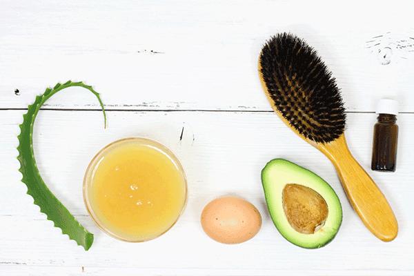 Bơ, chanh và trứng giúp làm sạch da, kiểm soát dầu