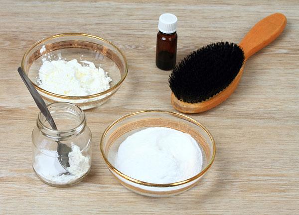 Bột Baking Soda làm sạch tóc