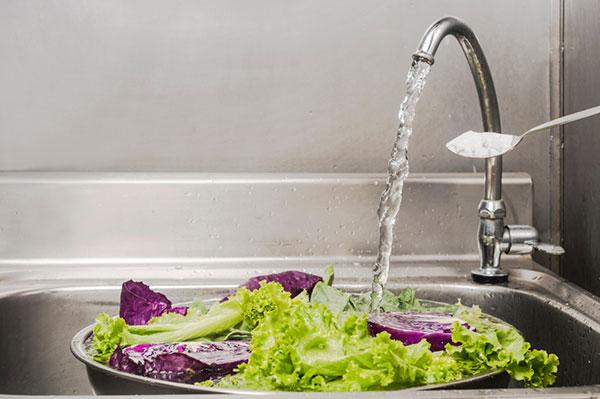 Nước Baking rửa thực phẩm, rau quả