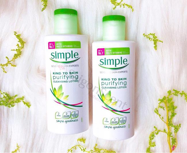 Lotion dưỡng da Simple Kind to Skin