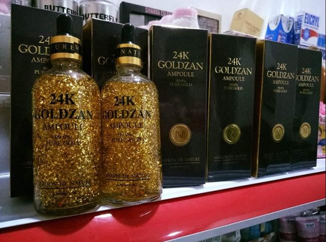 Goldzan Ampoule là một loại Ampoule dạng gel