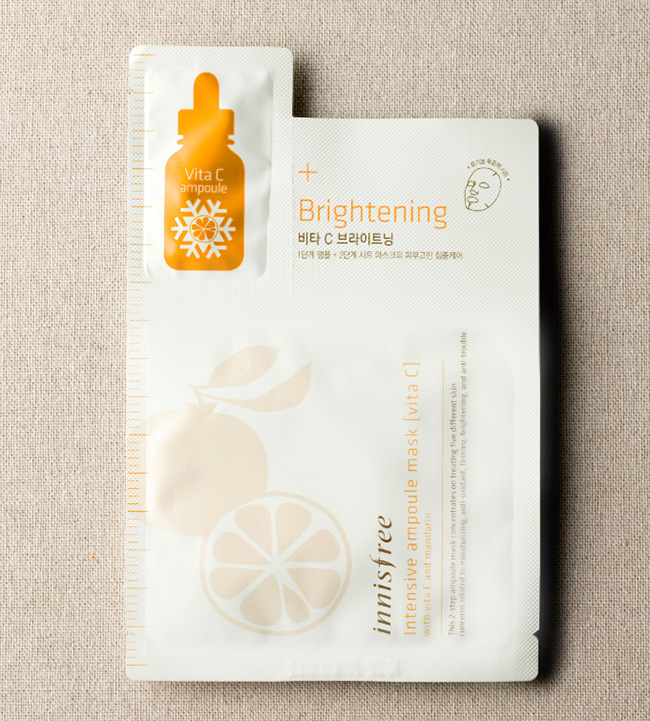 Mặt nạ Intensive Ampoule của Innisfree
