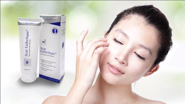 Sử dụng kem trị sẹo Scar Esthetique