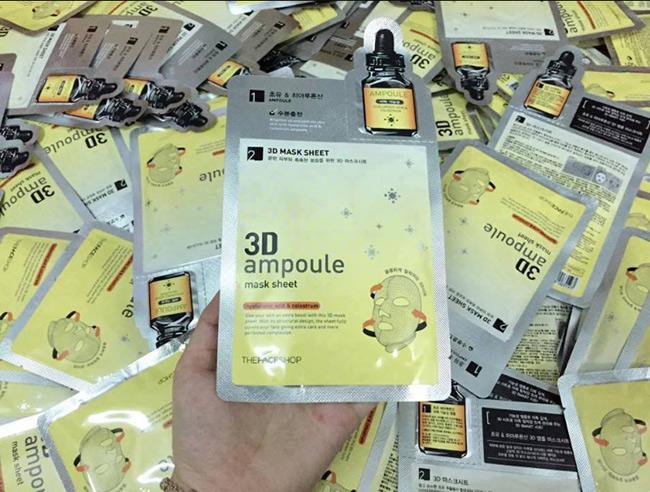 Mặt nạ 3D Ampoule của TheFace Shop