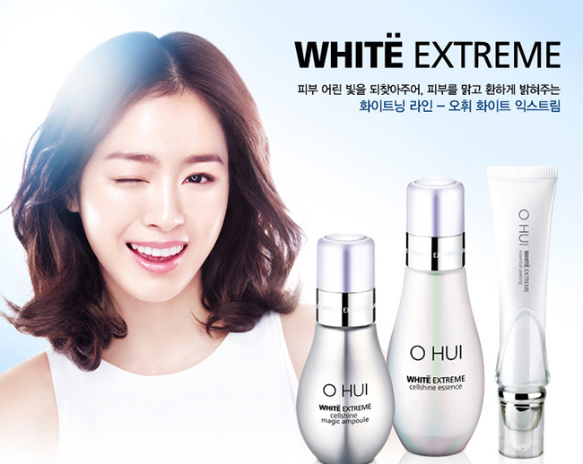 White Extreme Cellshine Magic Ampoule Ohui