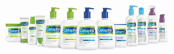 sữa rửa mặt là một trong những sản phẩm chủ lực của Cetaphil