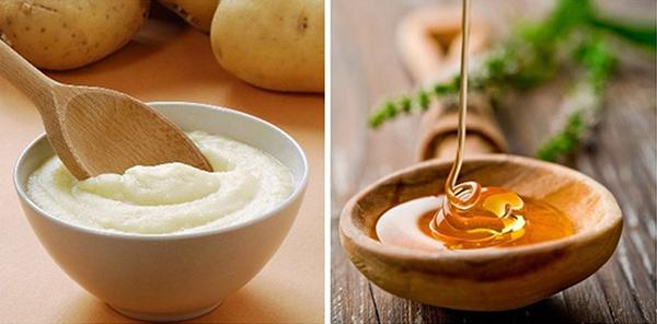 Cách làm Mặt nạ khoai tây sữa tươi và mật ong