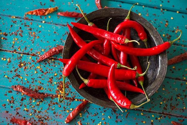 Quả ớt có các chất giúp đốt cháy lượng mỡ thừa trong cơ thể