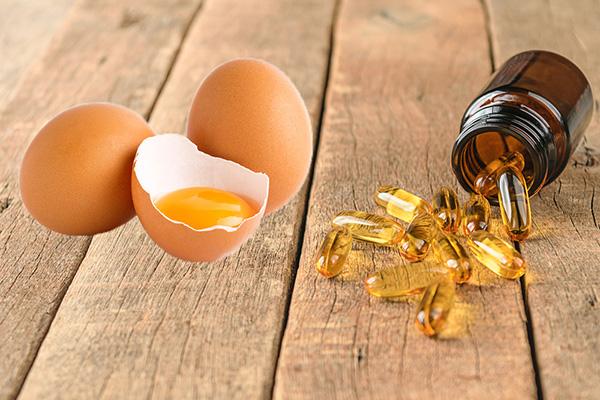 Đừng quên bổ sung dưỡng chất cho da bằng cách đắp mặt nạ vitamin E và trứng gà nhé