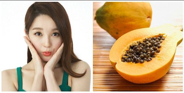 Trong đu đủ có rất nhiều vitamin và dưỡng chất thiết yếu cho làn da