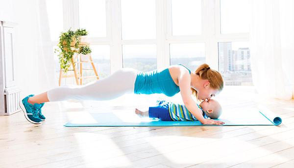 Tập Yoga cùng bé