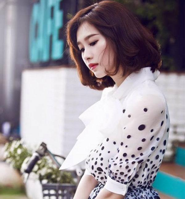 Kiểu tóc ngang vai đang gấy sốt tại Hàn Quốc