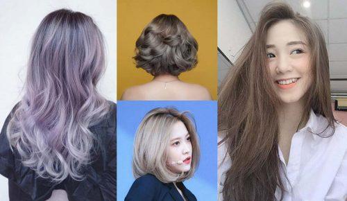 50+ kiểu tóc màu nâu khói đẹp nhất mà bạn không thể bỏ qua