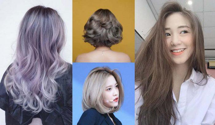 Những màu tóc nâu khói đẹp nhất