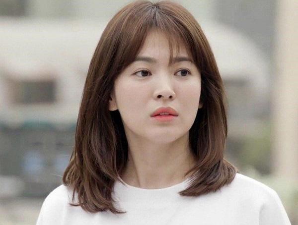 Kiểu tóc cá tính của Song Hye-kyo