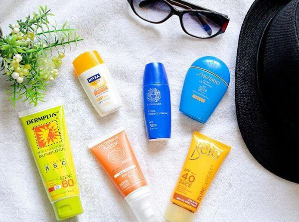 Kem chống nắng là bước không thể thiếu trong quy trình chăm sóc da