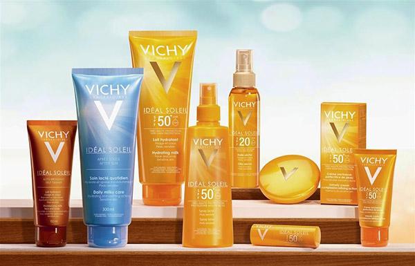 Những sản phẩm kem chống nắng của Vichy