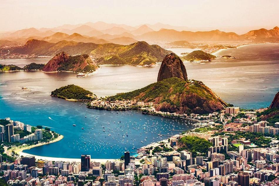Hình ảnh đẹp về một góc thành phố Rio De Janeiro