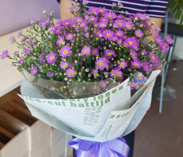 Bó hoa thạch thảo đẹp
