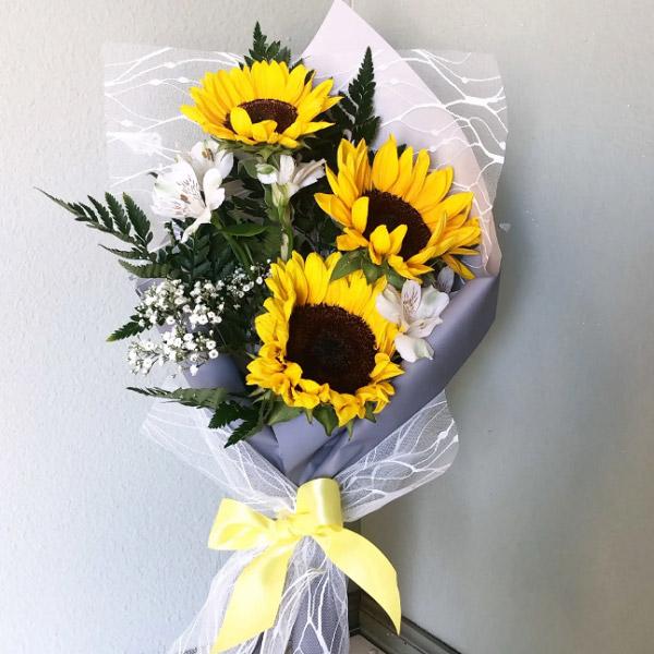 Hình ảnh bó hoa hướng dương đẹp 4