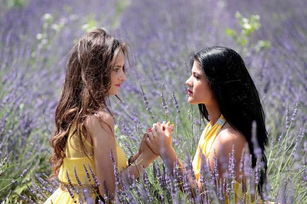 Cánh đồng lavender là địa điểm sống ảo lý tưởng
