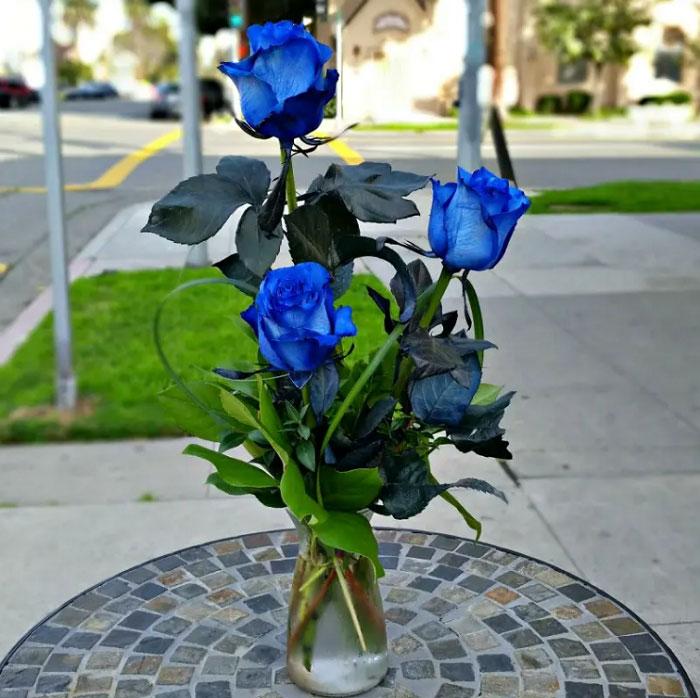 Bình 3 bông hoa