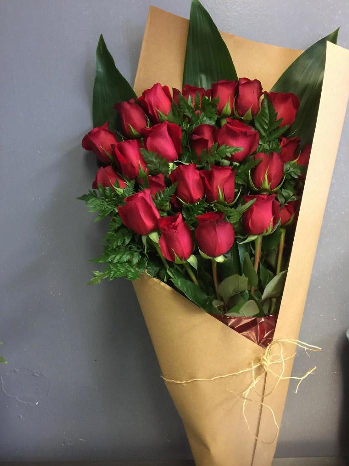 Hình ảnh bó hoa hồng đẹp 3