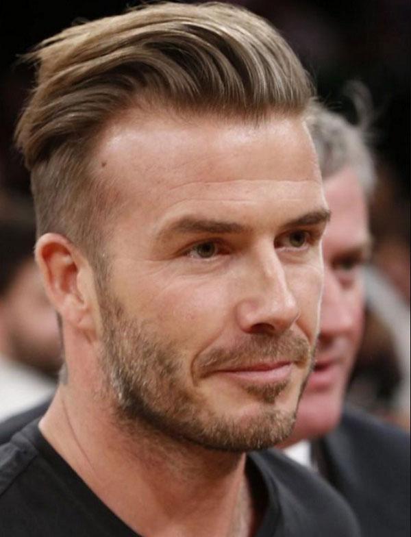 Kiểu tóc undercut của David Beckham