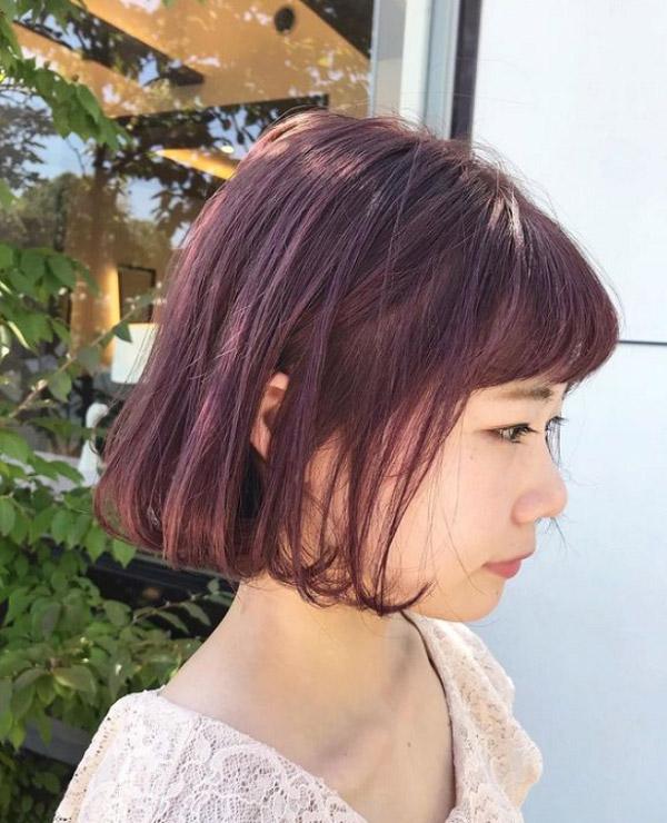 Nâu đỏ ánh tím