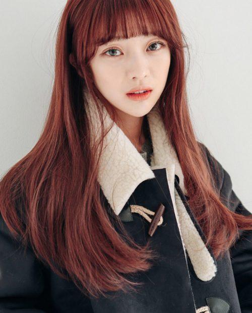 Những kiểu tóc màu nâu đỏ đang hot và được ưa chuộng nhất hiện nay