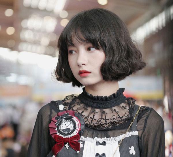 Tóc bob xoăn Hàn Quốc