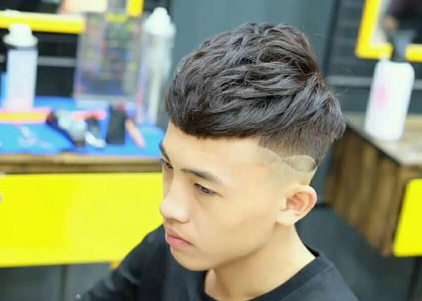 Mohican uốn phồng