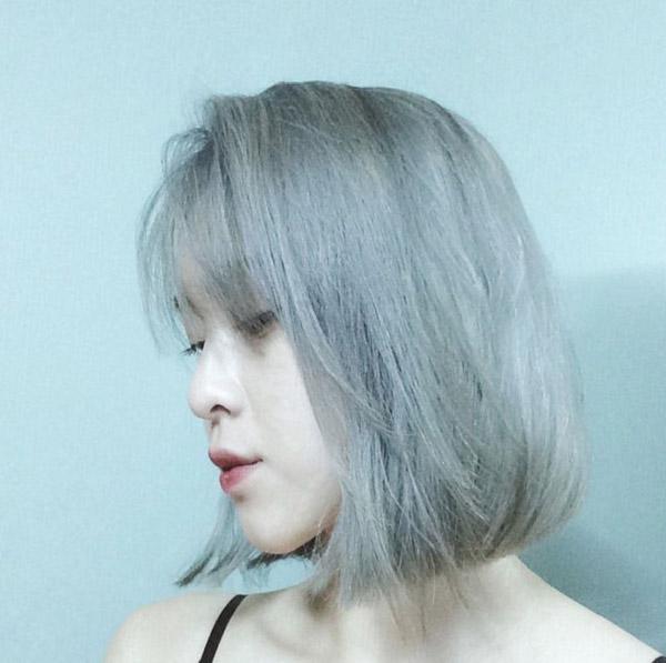 Màu xanh khói nhạt