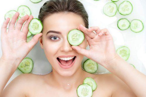 Những cách làm mặt nạ dưa leo dưỡng da tại nhà