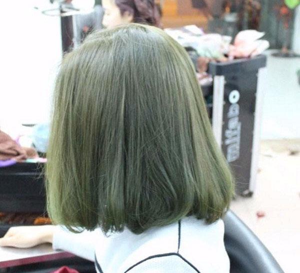 Màu xanh rêu nhạt