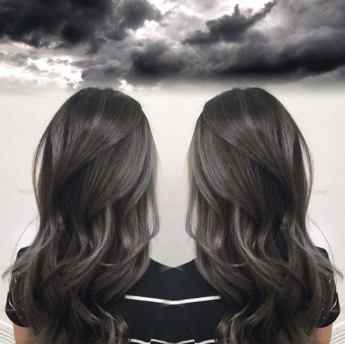 Tóc màu than chì – Màu tóc đẹp lung linh đang khiến giới trẻ phát cuồng