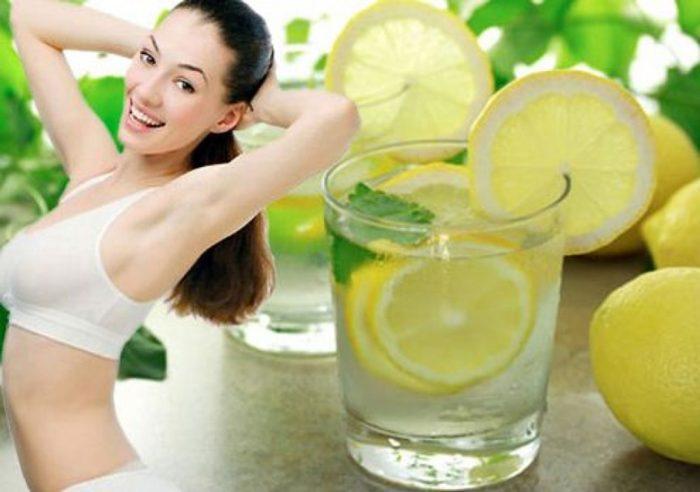 Uống nước chanh muối giảm cân